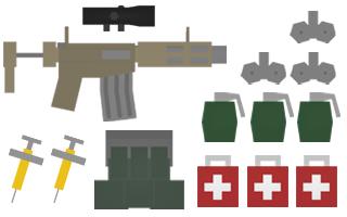 Assault Kit Items