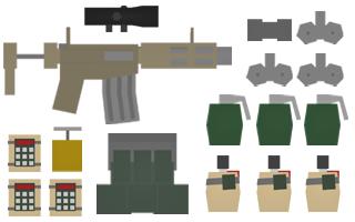 Boom Kit Items