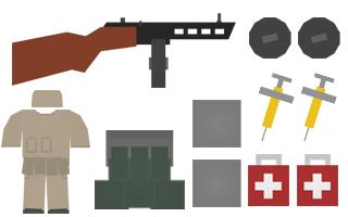 Flanker Kit Items