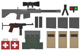 HeavySniper Kit Items