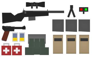 LightSniper Kit Items
