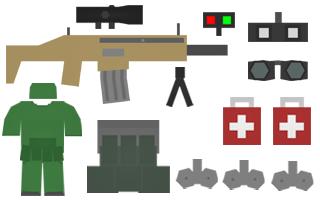 Sharpshooter Kit Items