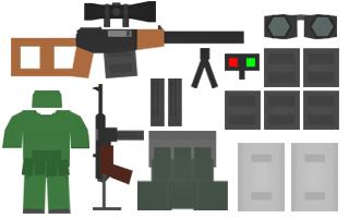 Snooper Kit Items