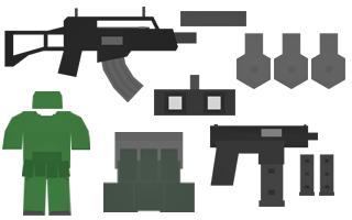 Stalker Kit Items